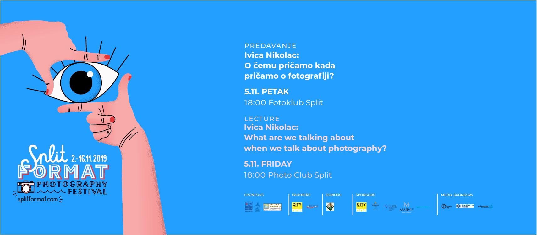 Ivica Nikolac: O čemu pričamo kada pričamo o fotografiji?